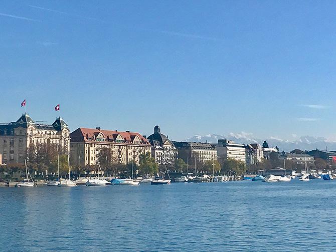 スイス チューリッヒの街並み