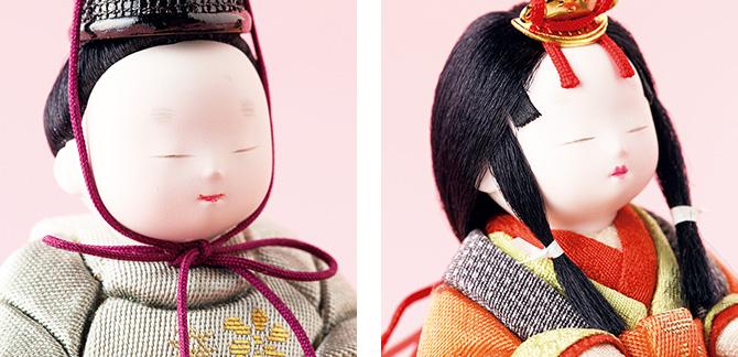 松崎幸一光作 木目込雛人形 「とのとひめ」