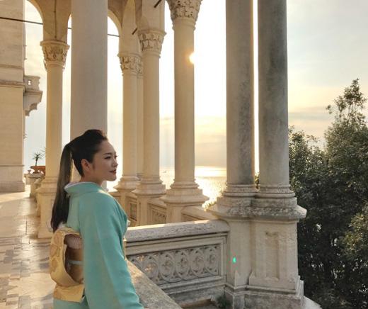 イタリア トリエステのミラマーレ城