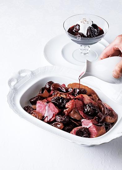 「ル・マンジュ・トゥー」谷 昇さんが提案するプルーン料理