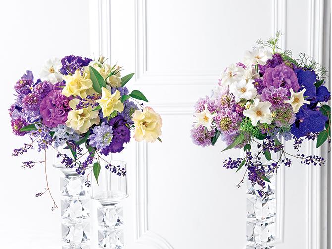 家庭画報の表紙の花