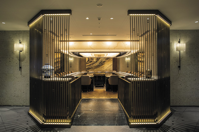 帝国ホテル東京「嘉門」