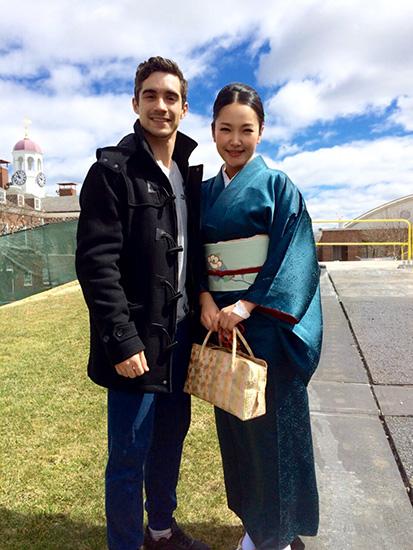 ブルーマンの妻 北川聖子 青嫁日記 ハビエル・フェルナンデスさん