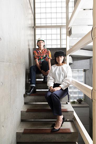 帽子デザイナー石田早姫さん(25歳)と石田 翔さん(19歳)