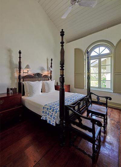「アマンガラ・スイート」のベッドルーム