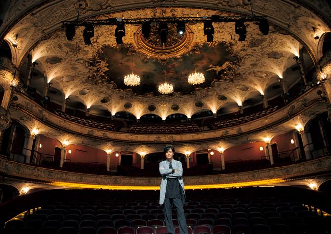 ウィーン市内のフォルクス劇場