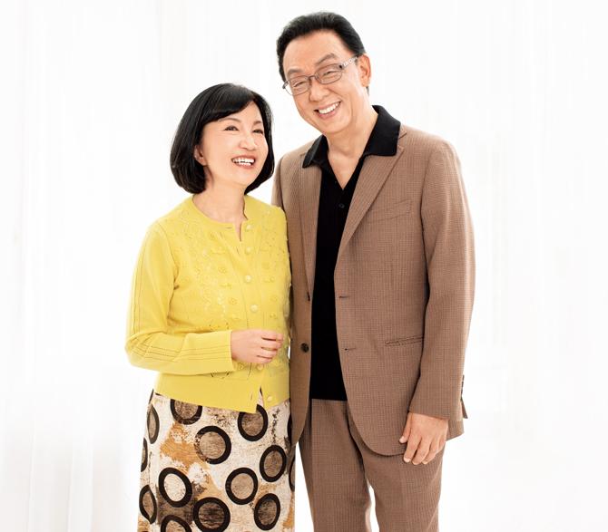 梅沢富美男さん池田明子さんご夫妻