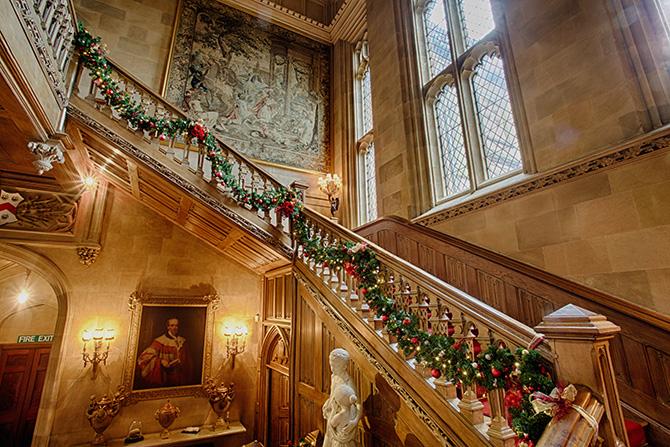ハイクレア城の大階段