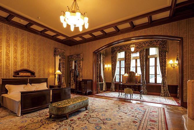 侯爵夫妻の寝室