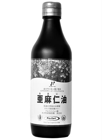 カナダ産未精製の亜麻仁油
