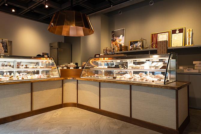 Chocolaterie HISASHI(ショコラトリエ ヒサシ)店内の様子