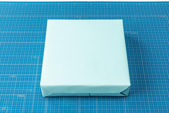 基本のキャラメル包みの包み方