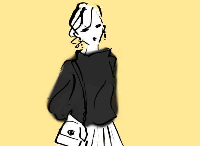 """休みの日に着る服がない問題。40代のカジュアルは""""真ん中服""""でうまくいく!"""