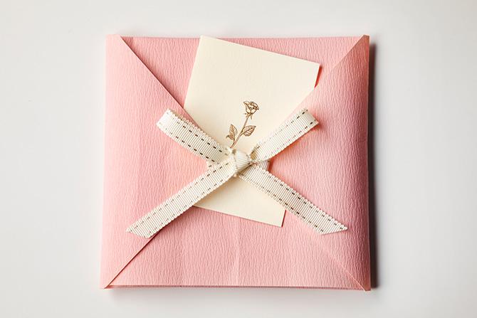 ピンクと白の組み合わせで可愛らしく