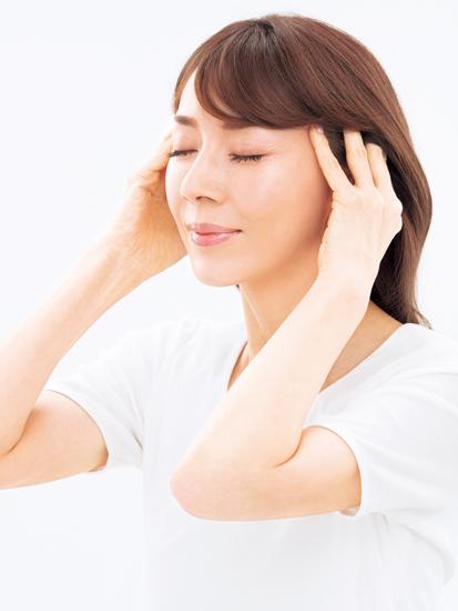頭皮を動かすマッサージ STEP1