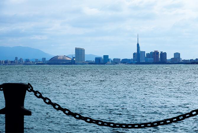 百道 浜(ももちはま)エリア