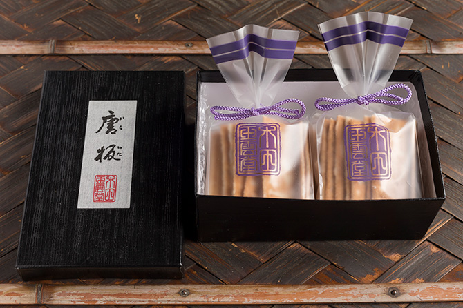 疫病除けのご利益あり。京都の「唐板」はなんと約500年続く名菓です。