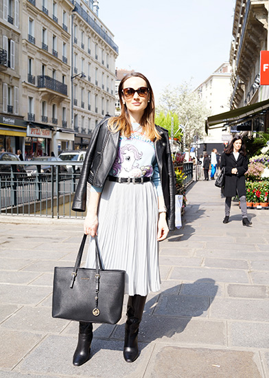 パリのおしゃれスナップ コーディネート