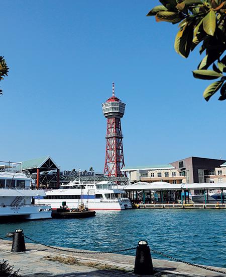 壱岐、対馬や五島列島への定期船が発着する博多ふ頭