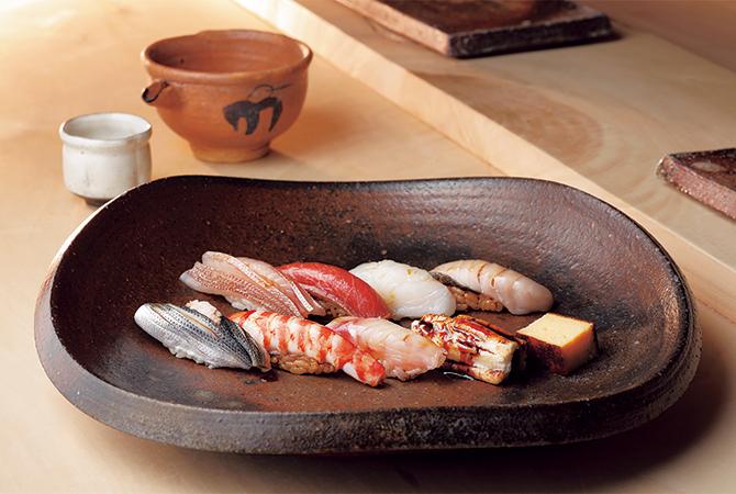 菊鮨の握りずし