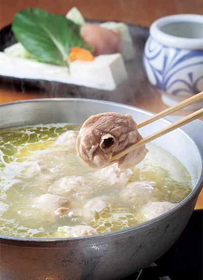 水炊き専門店 橙の水炊き