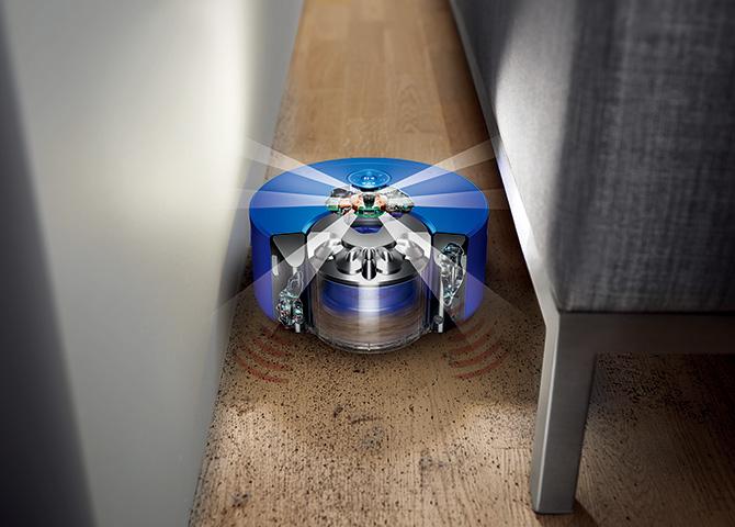 ダイソンのロボット掃除機
