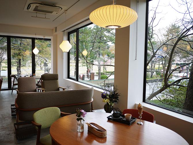 金沢21世紀美術館の近くにある古都美の店内。