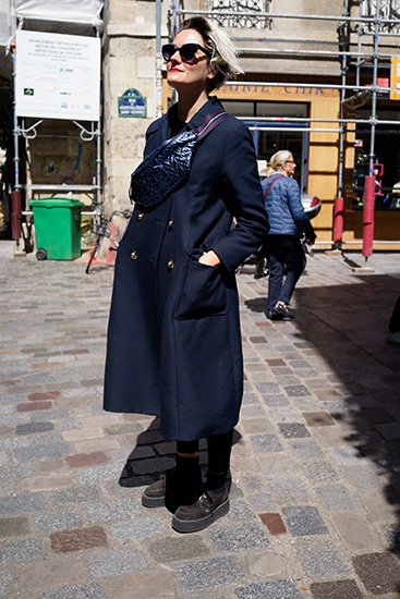 パリのマダムスナップ06 自分らしいお洒落