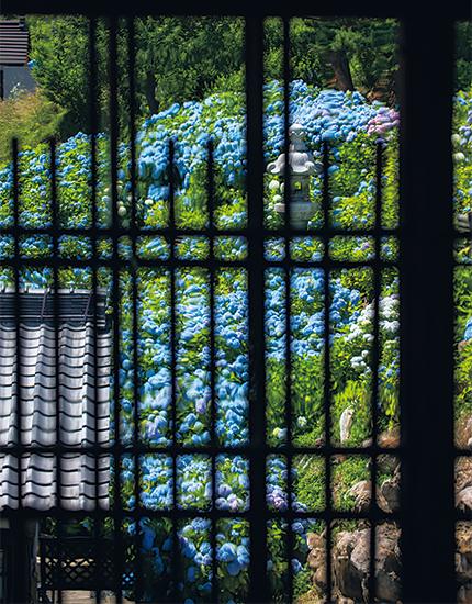 旧青山別邸2階窓からの眺め