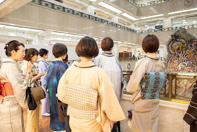 一色采子さん三越日本橋イベントレポート