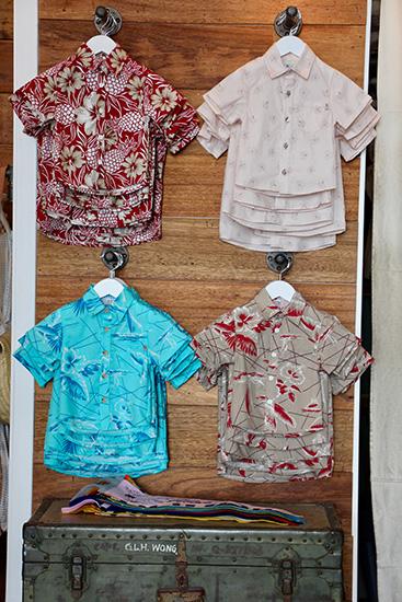 子ども用アロハシャツ