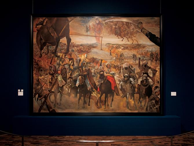 サルバドール・ダリ 《テトゥアンの大会戦》