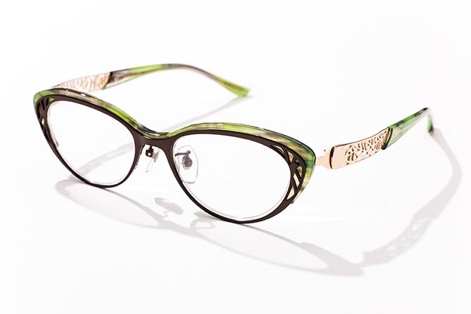 トレミー48グリーンメガネ