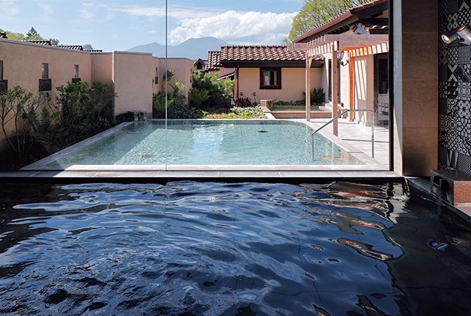 露天風呂を備えた大浴場「KOMOREBI」
