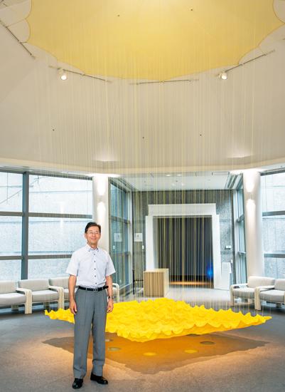 愛知県美術館副館長の古田さん。