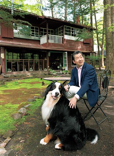 田中義人さんと愛犬リリーちゃん