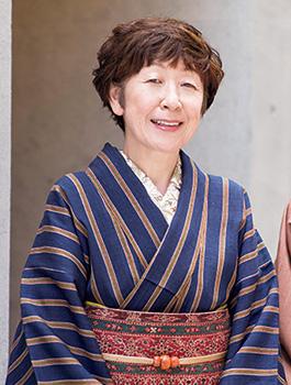 松屋きもの市 石田節子さん