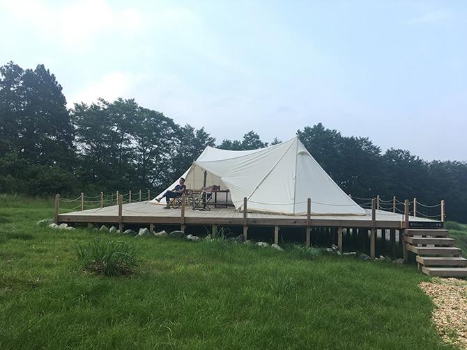 白馬テント