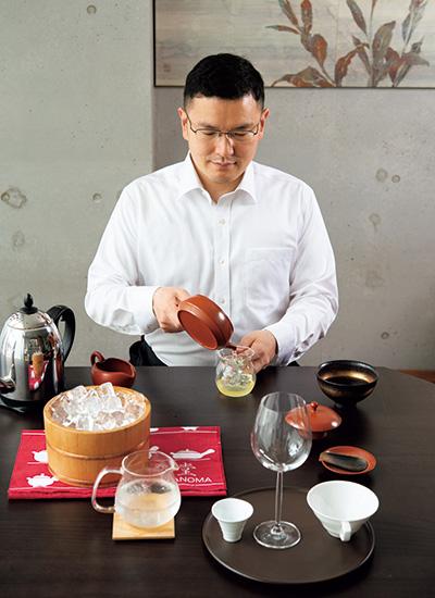 日本茶カフェ「茶茶の間」店主の和多田さん