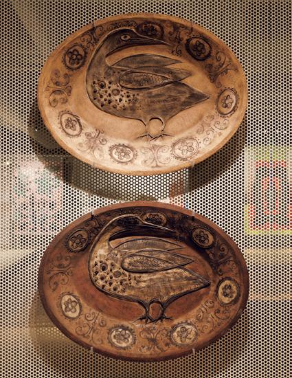 《宴のテーブル:ガチョウの皿》