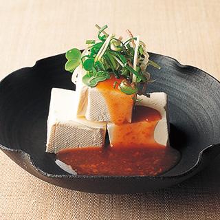 レシピ,野﨑洋光,野崎洋光,分とく山,梅肉だれ,梅干し,梅肉ペースト,日本酒,ワイン,おつまみ,クリームチーズ,合わせ薬味