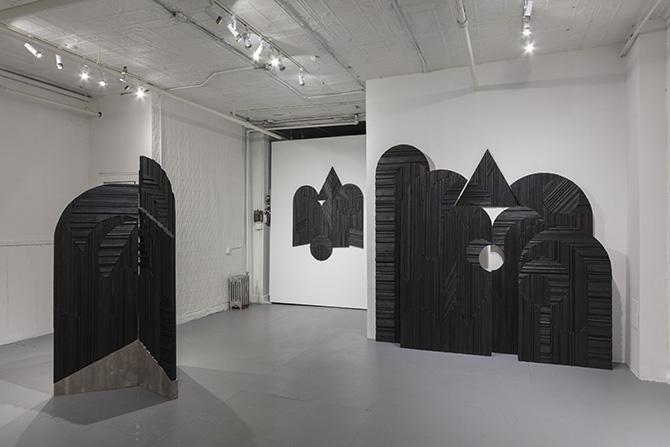 ニューヨークのギャラリー「ロリモト」の展示風景