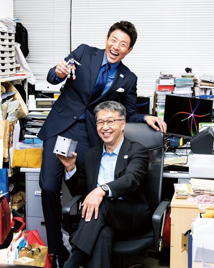 松岡修造さんと中須賀真一さん
