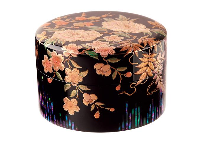 山中漆器400年の伝統の技が生きるミニ骨壷