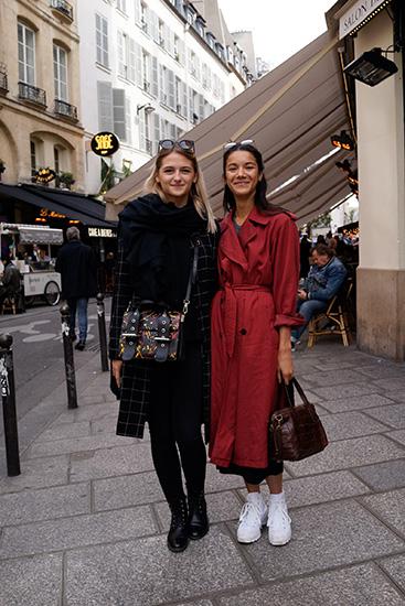 パリジェンヌのファッションスナップ