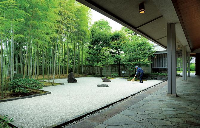 「游心亭」の坪庭