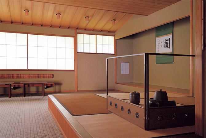「游心亭」の茶室