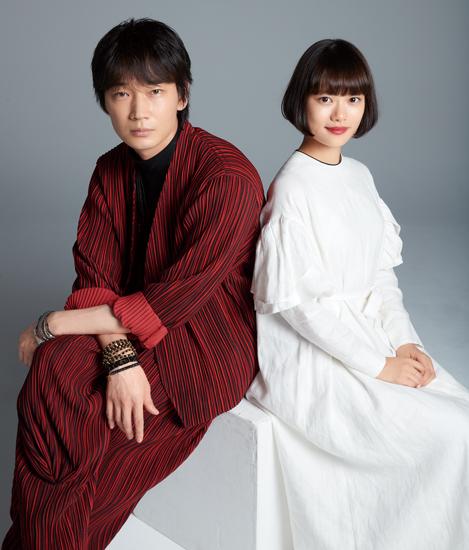 綾野剛さんと杉咲花さん