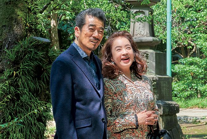 宇崎竜童さん・阿木燿子さん夫妻