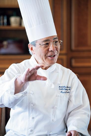 帝国ホテル特別料理顧問 田中 健一郎さん
